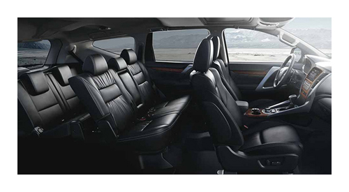 occupants are also protected in the event of a collision with 7 airbags with it the 2016 montero sport was given a 5 star rating from the australasian new